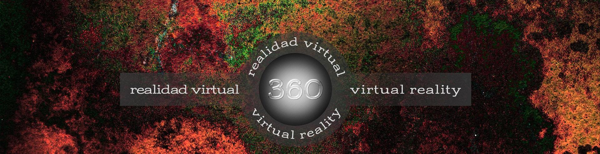 letrero de 360 realidad virtual