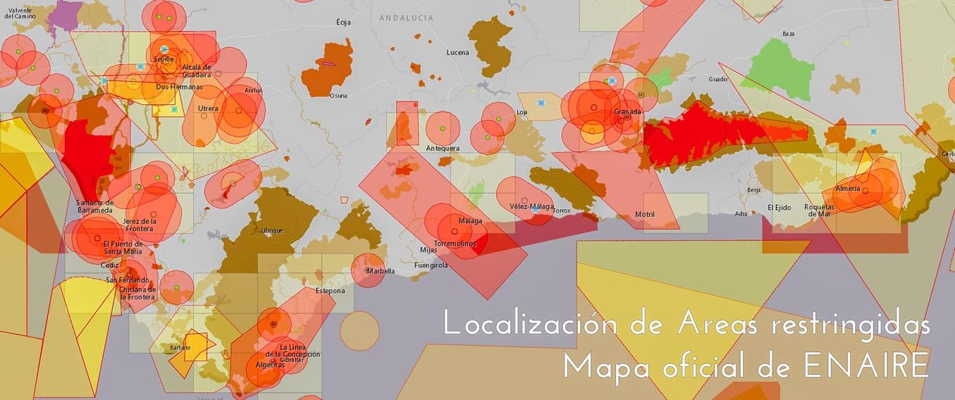 Un mapa de anaire drones