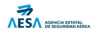 Logotipo de AESA agencia estatal de seguridad aerea