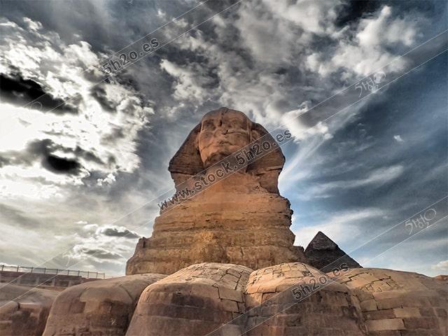 La esfinge de Egipto