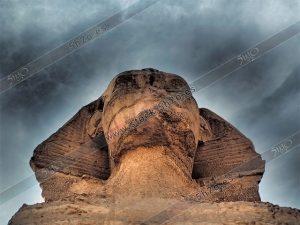 La esfinge de Guiza en Egipto