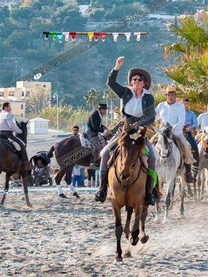 Foto de stock - Photo Stock by 5h2o - Jinete en las carreras de cintas a caballo