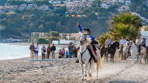 Foto de stock - Photo Stock - Carreras de cintas a caballo
