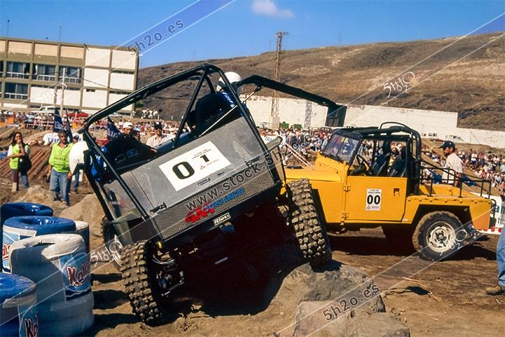 Foto de stock de 5h2o - III trial 4x4 Ciudad de Güimar