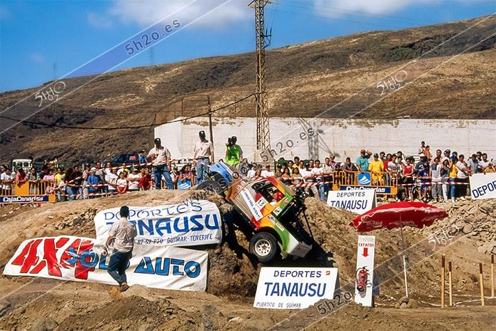 Foto de stock de 5h2o - III trial 4x4 Ciudad de Guimar - 1995