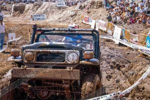 Foto de stock de 5h2o equipo jeser en III trial 4x4 Ciudad de Güimar