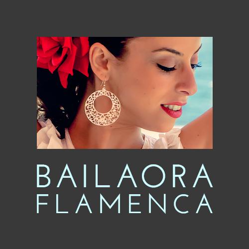 Boton de bailadora en español - diseño de 5h2o